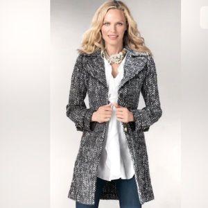 CAbi Salt & Pepper Tweed Jacket